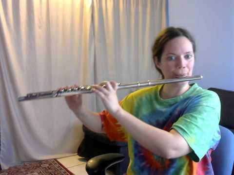 Minuet 1 by J.S. Bach. Same key as violin.