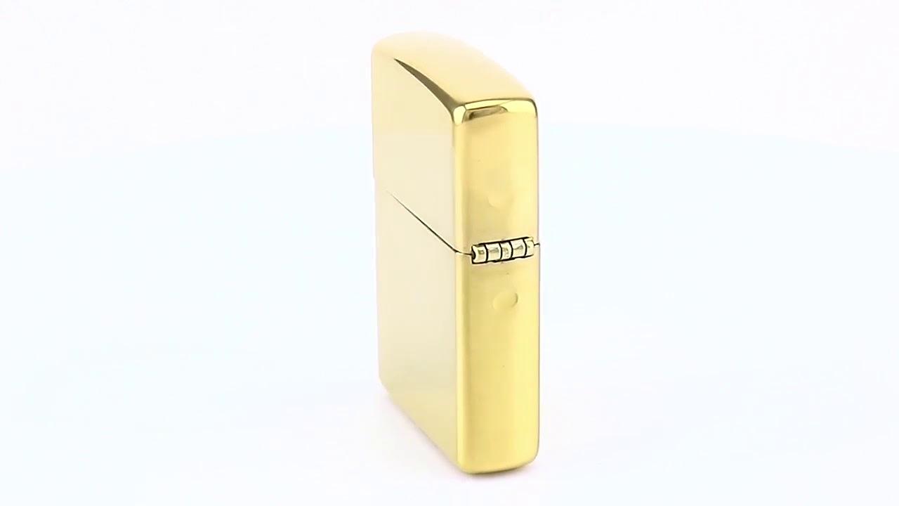 Зажигалка Zippo Ornament High Polish Brass 28450