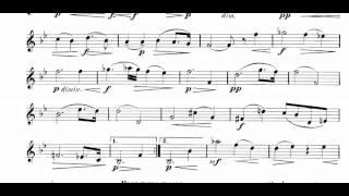 Romantic Pieces, Op.75 Part I (Dvorak, Antonin) violin sheet music