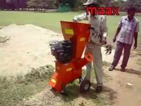 MSC 550H - MAAX Shredder Cum Chipper