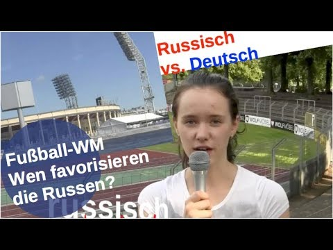 Fußball-WM: Deutschland Nr. 1 der Russen? [Video]