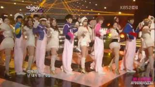 111223 a pink - eternal love | angel without wings w/ dalshabet, b1a4 and boyfriend