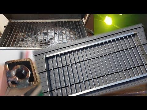 Grillrost aus Edelstahl selber bauen - zerlegbar