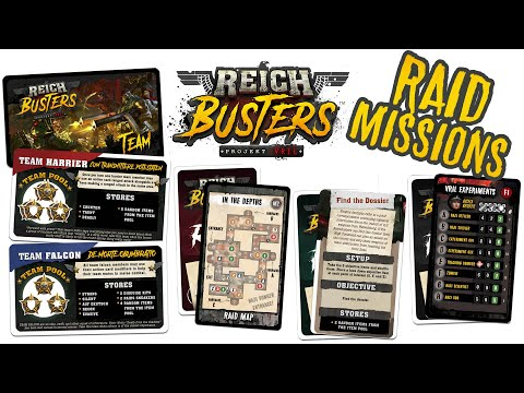How RAID Missions Work in Reichbusters: Projekt Vril