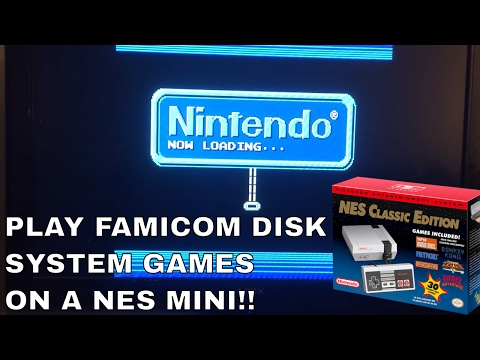 NES Classic Edition: FAMICOM DISK SYSTEM Games and Game Hacks!!