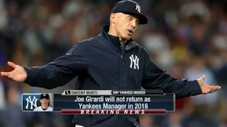 WATCH: Joe Girardi is OUT as New York Yankees manager