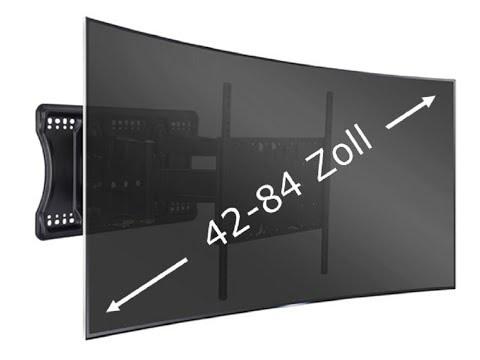 TV Wandhalterung für große Bildschirme bis 84 Zoll | CMB-Systeme
