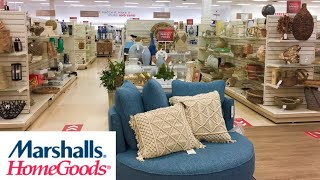 MARSHALLS HOMEGOODS HOME DECOR DECORATIVE ACCESSORIES SHOP WITH ME SHOPPING STORE WALK THROUGH