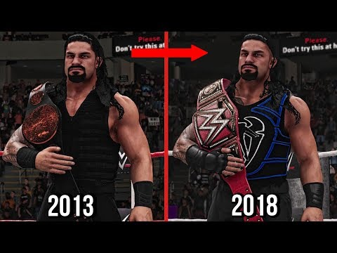 Download All Roman Reigns Championships Wins In WWE! 2013 To 2018 ( WWE 2K18 ) Mp4 HD Video and MP3