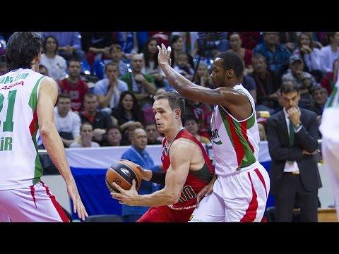 Highlights: RS Round 4, Lokomotiv Kuban Krasnodar 72-53 Pinar Karsiyaka