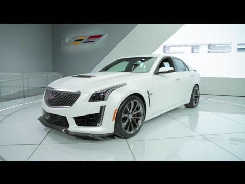 2016 Cadillac CTS-V - 2015 Detroit Auto Show