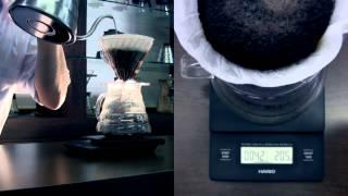 Весы для кофе Hario VST-2000B с таймером, точность взвешивания 0,1 гр. от компании CONTI ESPRESSO MACHINE - видео
