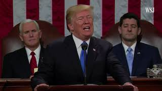Wall Street Journal - Trump's State Of The Union In Three Minutes