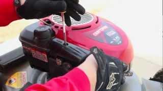 REPAIR BRIGGS & STRATTON LAWNMOWER TUNE UP CARBURETOR CLEAN