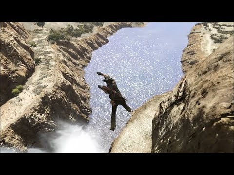 Falling Off Cliffs - Red Dead Redemption