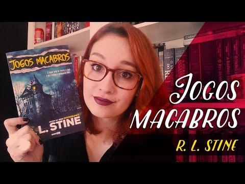Jogos Macabros (R. L. Stine) | Resenhando Sonhos
