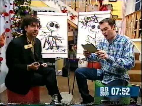 Tim Burton draws Jack Skellington!