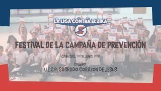 Los niños del Sagrado Corazón de Jesús presentan su festival