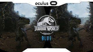 SBS 1080p►JURASSIC WORLD: Blue VR Samsung Gear VR Gameplay • Realidade Virtual • GearVR 2018