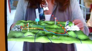 HD Traffic Augmented Reality application game - TomTom @ IFA 2010