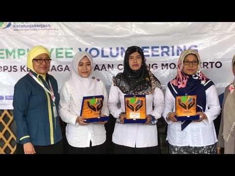Employee Volunteering BPJS Ketenagakerjaan Cabang Mojokerto (Yayasan Syarif Hidayatulloh)