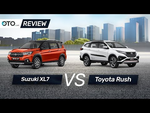 Suzuki XL7 vs Toyota Rush | Review | Pilih Yang Mana? | OTO.com