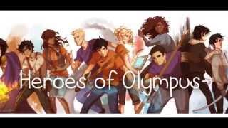 Heroes of Olympus- Superheroes