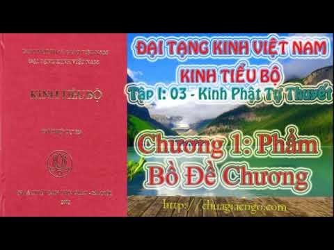 Kinh Tiểu Bộ - 038. Kinh Phật Tự Thuyết - Chương 1: Phẩm Bồ Đề Chương