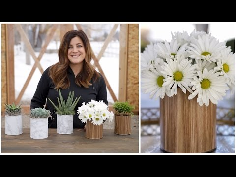 DIY Paint Can Planter/Vase (Full Version) // Garden Answer