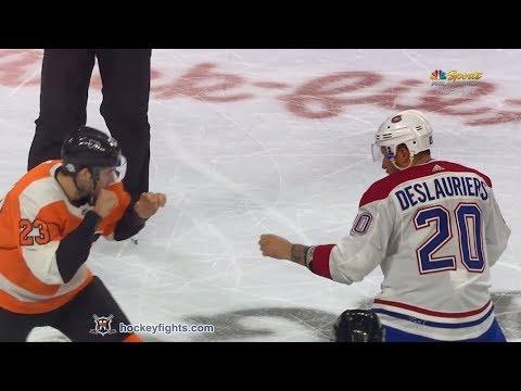 Brandon Manning vs. Nicolas Deslauriers