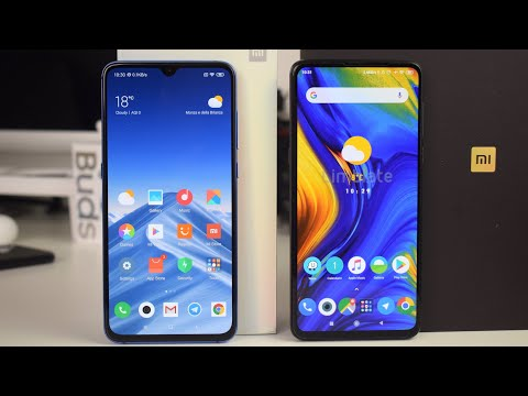 Confronto Xiaomi Mi 9 vs Mi Mix 3