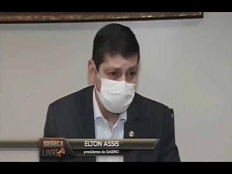 Elton Assis, fala ao SBT sobre os alertas da entidade ao governo de RO para evitar o caos na saúde