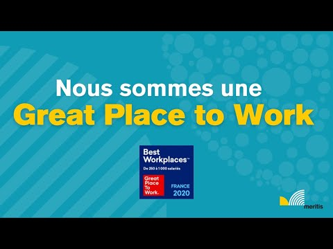 Video Nous sommes une Great Place to Work !