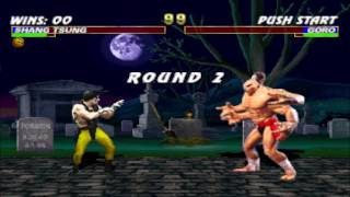 Shang Tsung vs Goro Double Flawless HD