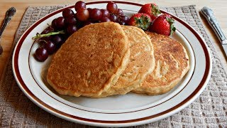 milkless pancakes without baking powder recipe