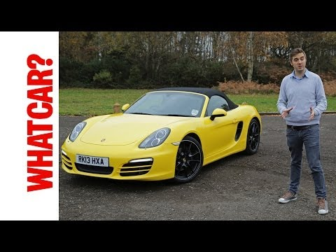 Porsche Boxster 2013 video review - What Car?