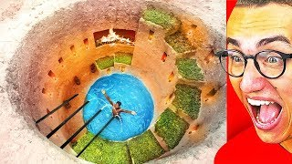This Is The GREATEST SECRET UNDERGROUND POOL HOUSE!