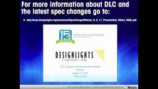 DesignLights Consortium (DLC) - September 29th Webinar [part 2 of 2]