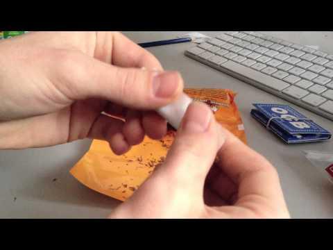 Anleitung: Zigaretten drehen mit Filter