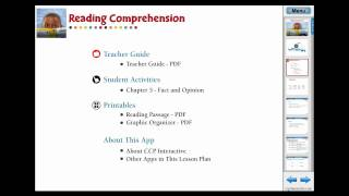 CC7108 Reading Comprehension: Fact And Opinion Chapter App