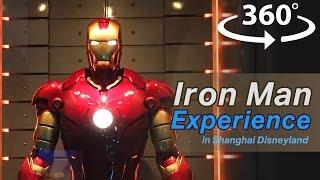 Iron Man Experience in Hong Kong Disneyland VR | 360 Video