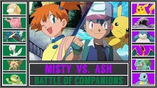 Misty  - (Pokémon) - Ash vs. Misty (Pokémon Sun/Moon) - Battle of Companions