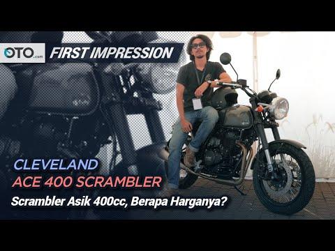 Cleveland Ace 400 Scrambler | First Impression | Moge Scrambler Klasik | OTO.com