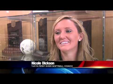 TJC HIRES NICOLE DICKSON AS 1ST SOFTBALL COACH
