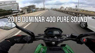 bajaj dominar 400 exhaust sound - Free Online Videos Best