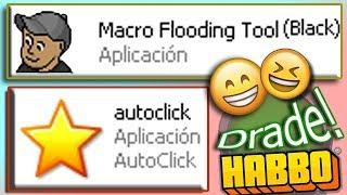 Descarga Macro Flooding Tool Black, Blue, Green & Pink Y Autoclick | HABBO