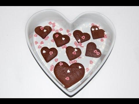 Cuori di Biscotti Fondenti tipo Batticuore - La Ricetta