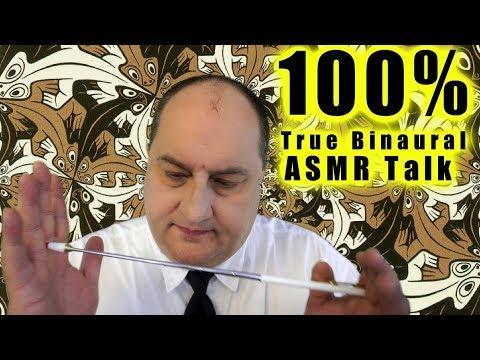 100% True Binaural ASMR Talk