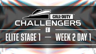Call Of Duty Challengers Elite 2021 | EU Stage 1 Week 2 | Day 1