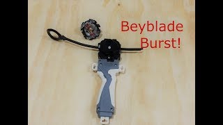 How to assemble a BeyBlade  Burst and launch.